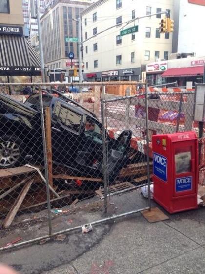 Chambers SUV crash courtesy Neil Smith