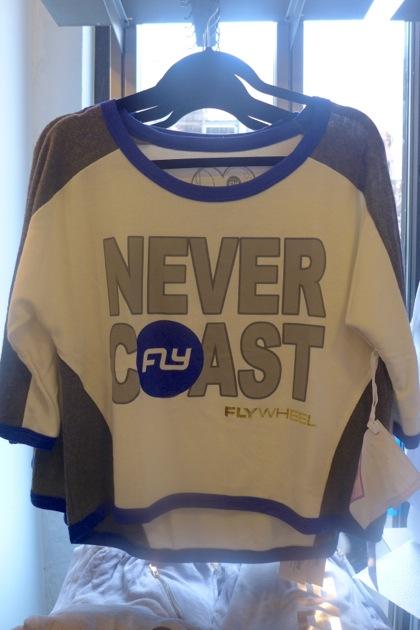 Flywheel Sports Tribeca shirt