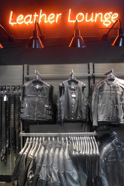 Harley-Davidson of NYC Leather Lounge