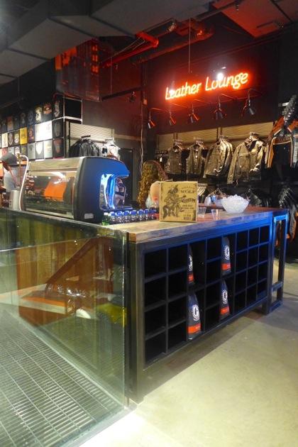 Harley-Davidson of NYC coffee bar