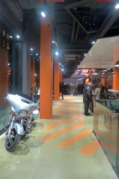 Harley-Davidson of NYC crosswalk