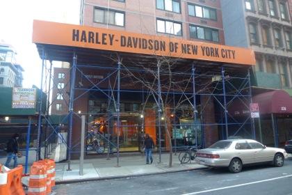 Harley-Davidson of NYC facade