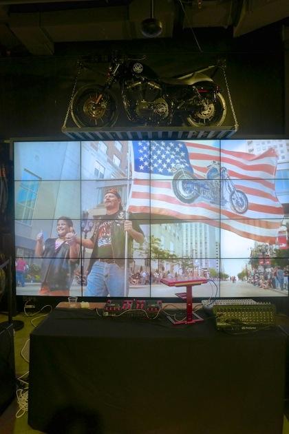 Harley-Davidson of NYC flag video