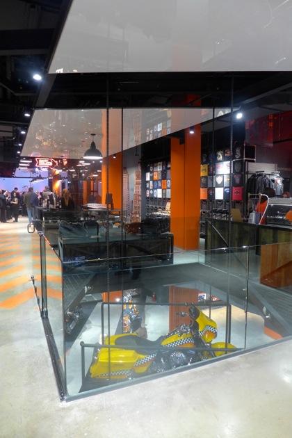Harley-Davidson of NYC lift