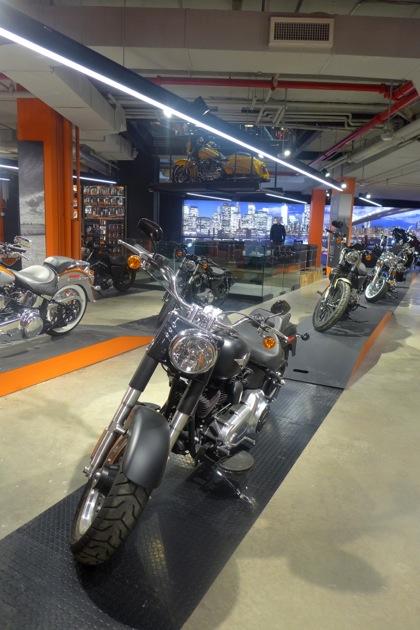 Harley-Davidson of NYC lower level1