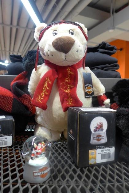 Harley-Davidson of NYC teddy bear
