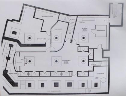Haus basement floor plan