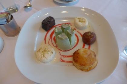 Tamarind Tribeca Lotus Room dessert sampler