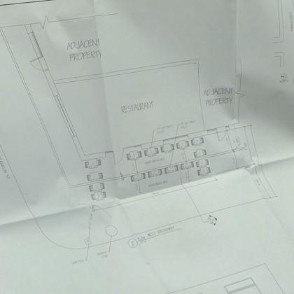 Terra sidewalk plan