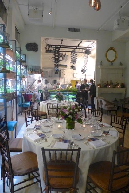 Bouley Botanical room