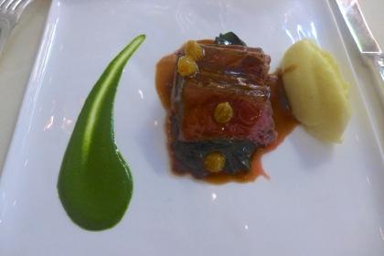 Bouley Botanical steak
