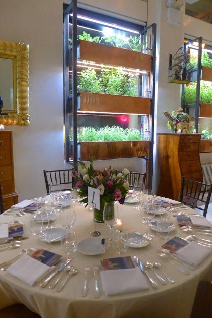 Bouley Botanical table