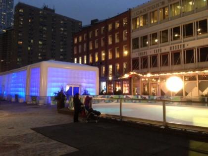 South Street Seaport ice bar