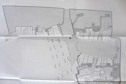 World Trade Center retail floor plans Level 1 north half only