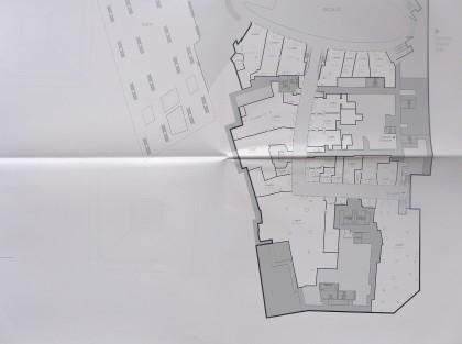 World Trade Center retail floor plans Level 1 southern half