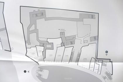 World Trade Center retail floor plans Level 2 NE only