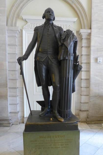 City Hall Washington statue