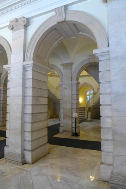 City Hall ground floor arch
