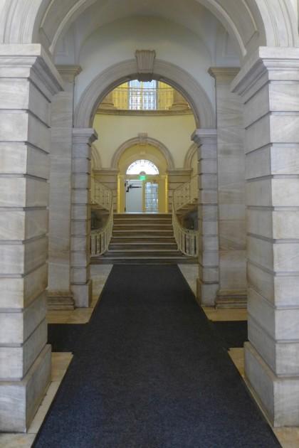 City Hall ground floor hallway