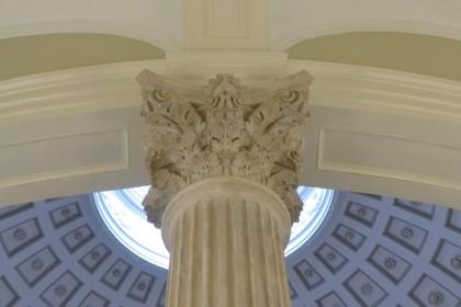 City Hall second floor column detail