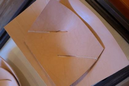 David Weeks Studio leather trays