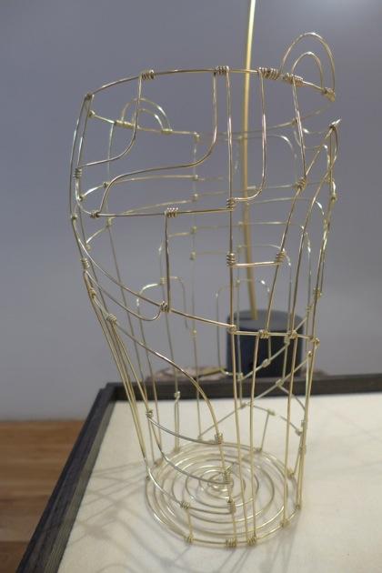 David Weeks Studio wire vase