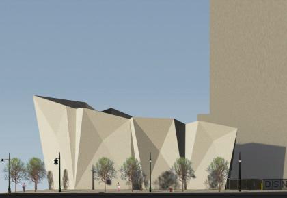 Spring Street Salt Shed rendering courtesy Dattner Architects