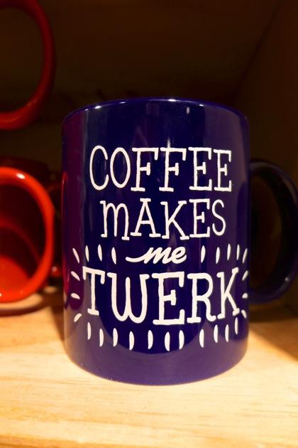 Urban Outfitters twerk mug