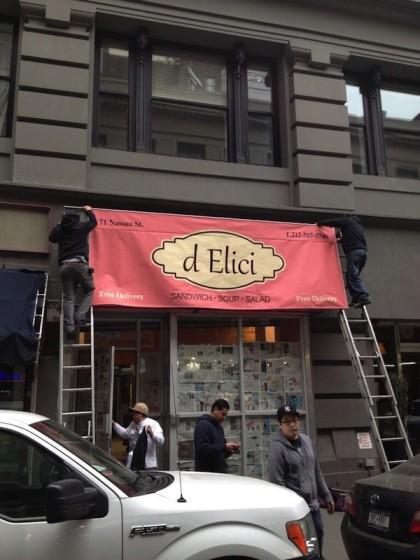 FiDi sandwich shop