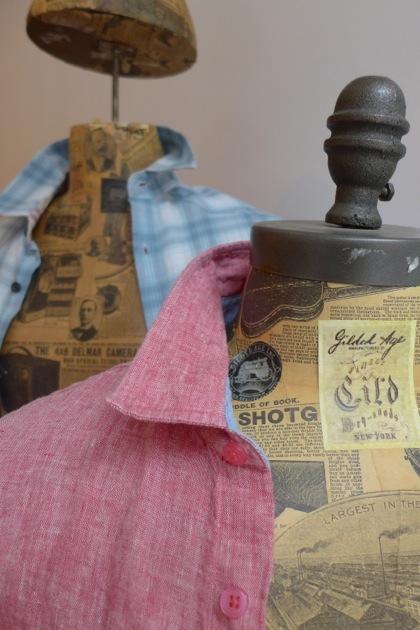 Gilded Age shirt collar