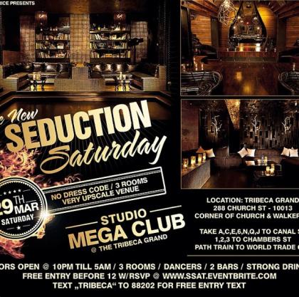 Seduction Saturday