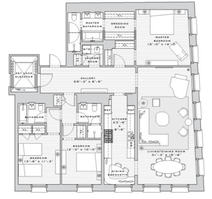 7 Harrison floorplan
