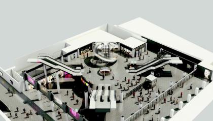 Fulton Center rendering
