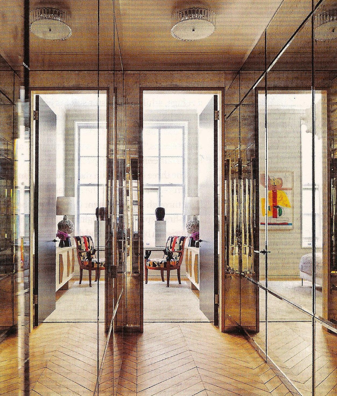 Architectural Digest: Loft Peeping: Steven Harris & Lucien