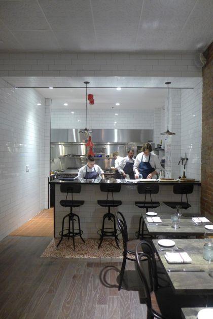 Racines NY kitchen
