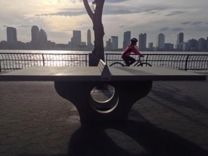 Rockefeller Park table tennis courtesy Henge
