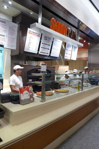 Brookfield Place Hudson Eats Skinny Pizza