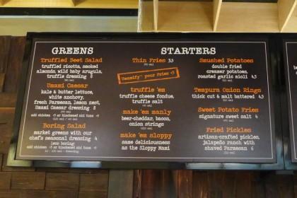 Brookfield Place Hudson Eats Umami Burger menu1