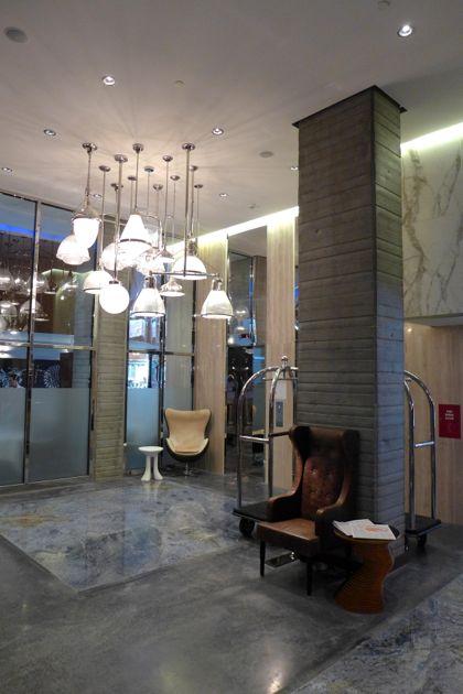Hotel Hugo lobby