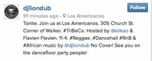 Los Americanos instagram