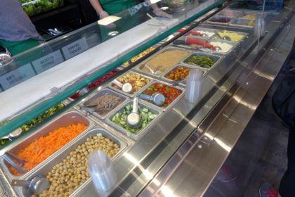 Sweet Green salad bar