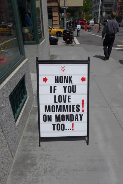 honk at 145 Hudson