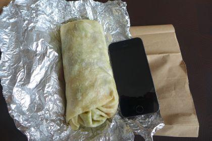 Dos Toros Taqueria burrito