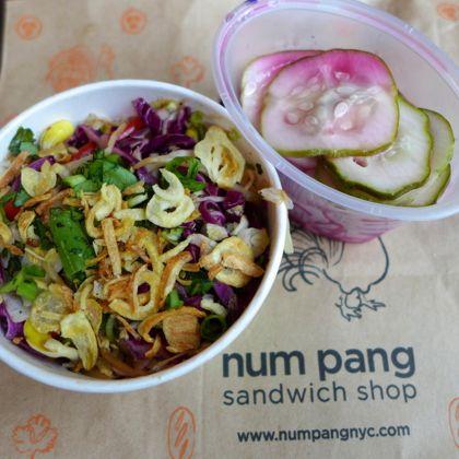 Num Pang sides