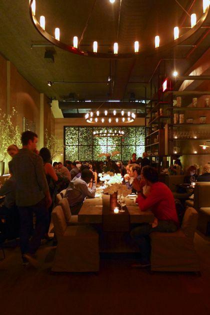 Tutto il Giorno Tribeca dining room