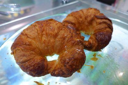 Macaron Cafe croissants