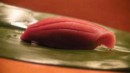 sashimi courtesy Sushi Dojo