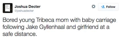 tweet Jake Gyllenhaal
