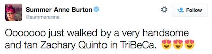 tweet Zachary Quinto