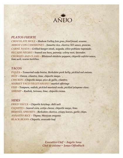 Anejo Tribeca menu2